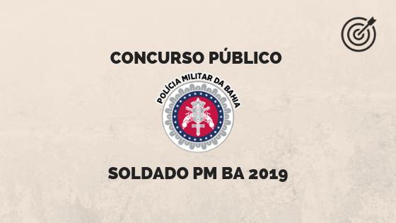 Concurso PM BA 2019