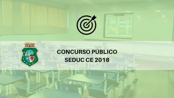 Concurso SEDUC CE 2018
