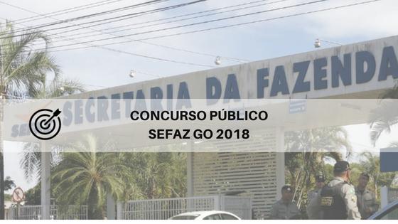Concurso SEFAZ GO 2018