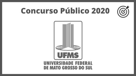 Concurso UFMS 2020