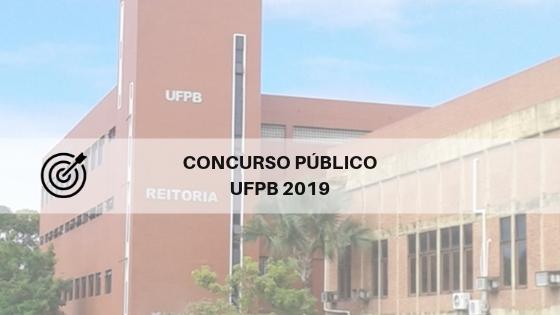 Concurso UFPB 2019