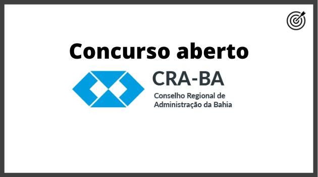 Concurso CRA BA 2020