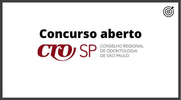 Concurso CRO SP 2020