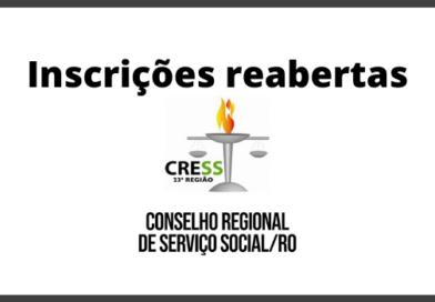 Concurso CRESS RO 2020