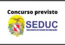 Concurso SEDUC PA 2020 - PREVISÃO