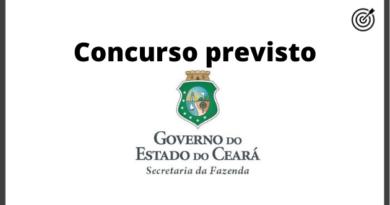 Concurso SEFAZ CE 2020 - PREVISÃO