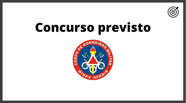Concurso CBM MG 2020 - PREVISÃO
