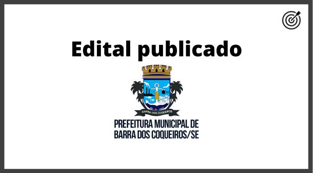 Concurso PREFEITURA BARRA DOS COQUEIROS SE 2020