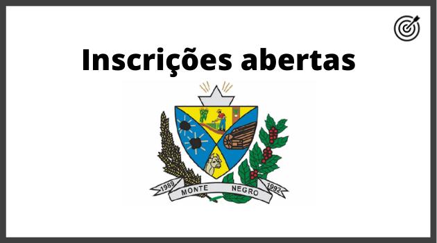 Concurso PREFEITURA DE MONTE NEGRO RO 2020