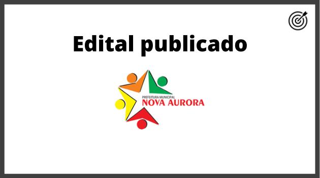 Concurso PREFEITURA DE NOVA AURORA GO 2020