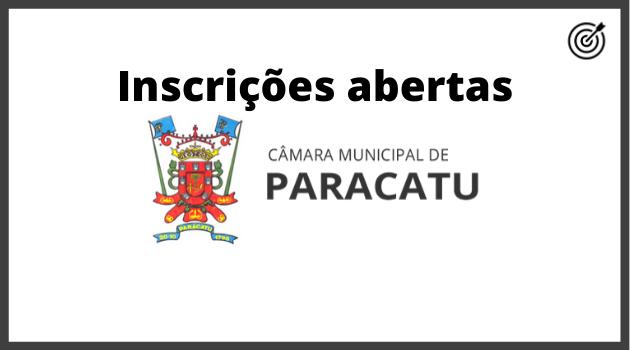 Concurso PREFEITURA DE PARACATU MG 2020