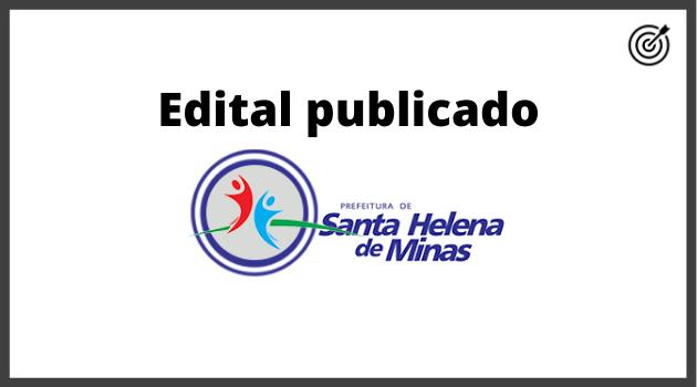 Concurso PREFEITURA DE SANTA HELENA MG 2020