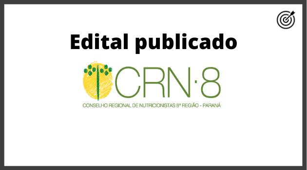 Concuso CRN 8 REGIÃO 2020