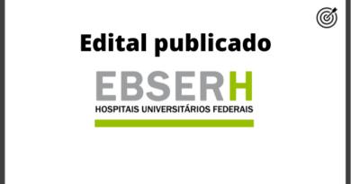 Processo Seletivo EBSERH 2020