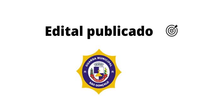 Concurso GUARDA MUNICIPAL DE SÃO GONÇALO RJ 2020