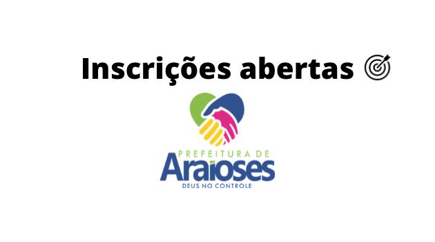 Concurso PREFEITURA DE ARAIOSES MA 2020