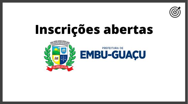 Concurso PREFEITURA DE EMBU GUAÇU SP 2020