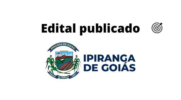 Concurso PREFEITURA DE IPIRANGA DE GOIÁS 2020