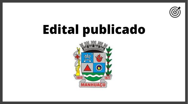 Concurso PREFEITURA DE MANHUAÇU MG 2020