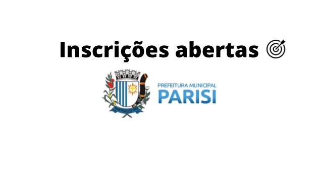 Concurso PREFEITURA DE PARISI SP 2020