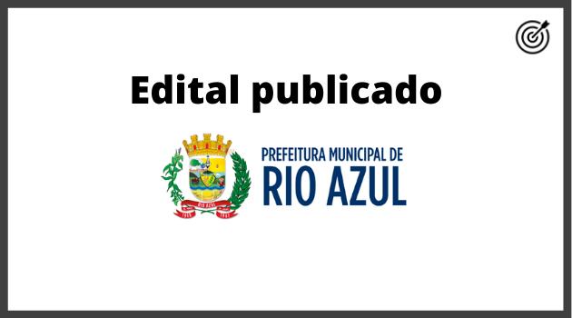 Concurso PREFEITURA DE RIO AZUL PR 2020