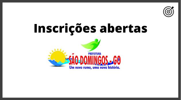 Concurso PREFEITURA SÃO DOMINGOS GO 2020